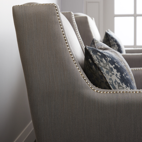 Brentwood Classics Vivian Chair Fabric Detail