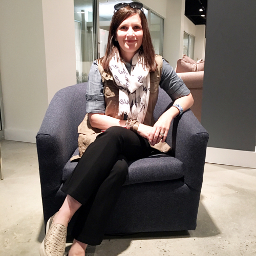 Traci at Brentwood Classics in Carina Swivel Chair