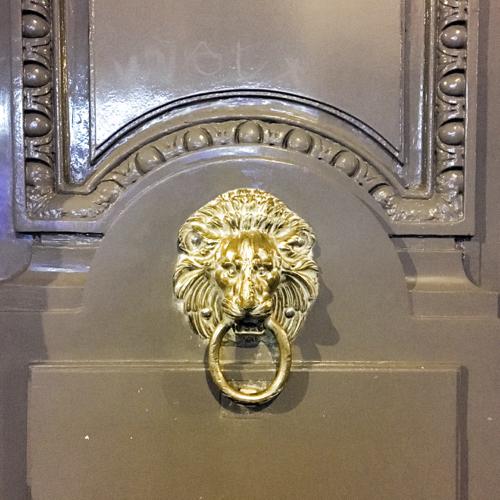 Gray High Gloss Parisian Door