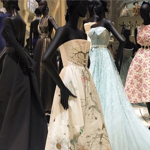 Christian Dior Exhibit Musee des Arts Decoratifs