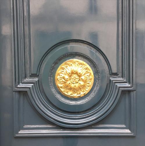 Glossy Parisian Door