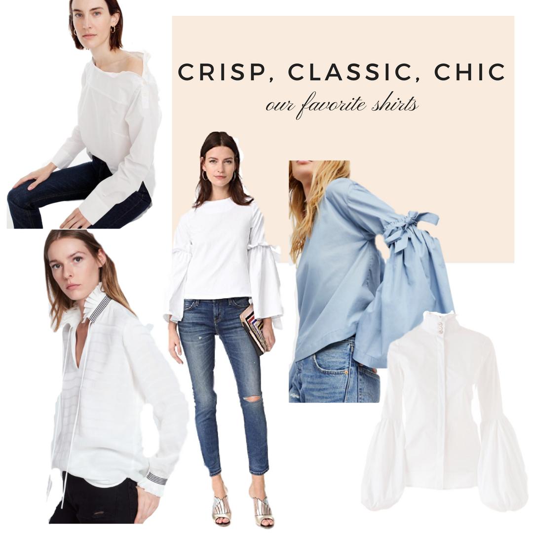 Crisp, classic, chic
