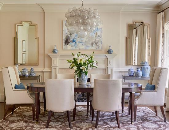 Traci Zeller Foxcroft Dining Room