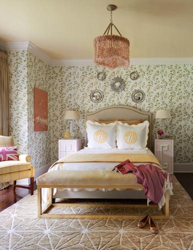 Traci Zeller Interiors Cotswold Guest Bedroom