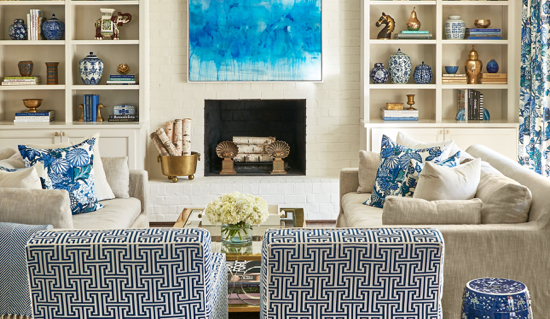 Traci Zeller Interiors South Park Living Room