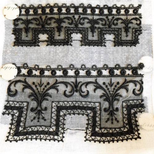 Vintage French Lace Samplers