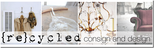 Recycled Consign and Design Header