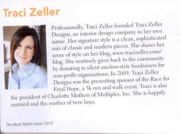 Traci Zeller Charlotte's 25 Most Stylish