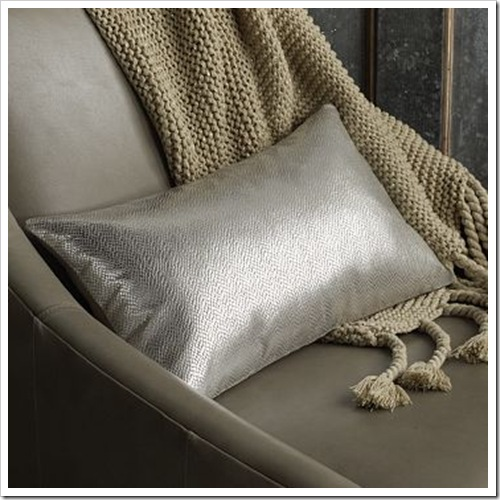 West Elm Frosted Foil Pillow Cover