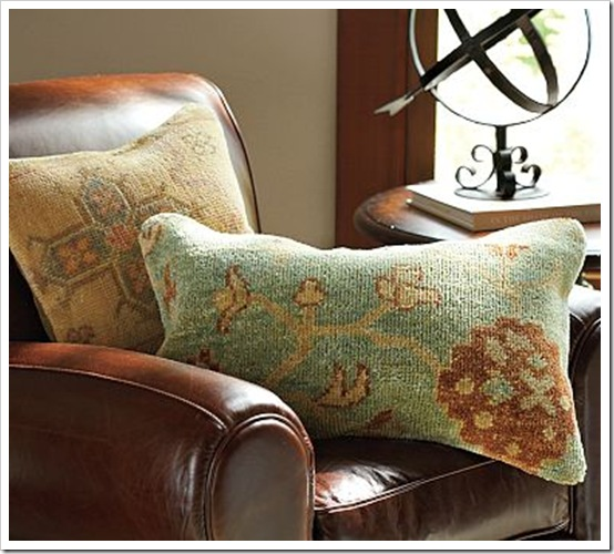 Pottery Barn Hand Knotted Pillow Covers