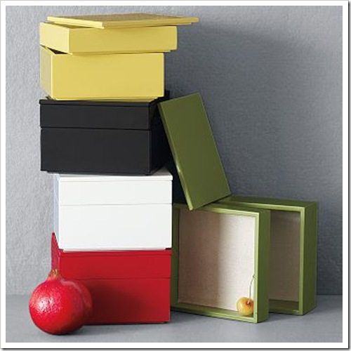 West Elm Small Stacked Boxes