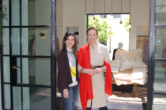 Traci Zeller and Jane Scott Hodges at Capitol