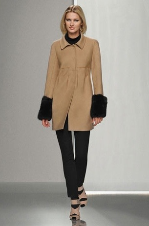 Per Se Collection Toffee Wool Jacket